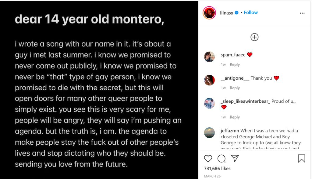 Lil Nas X a lansat videoclipul piesei MONTERO
