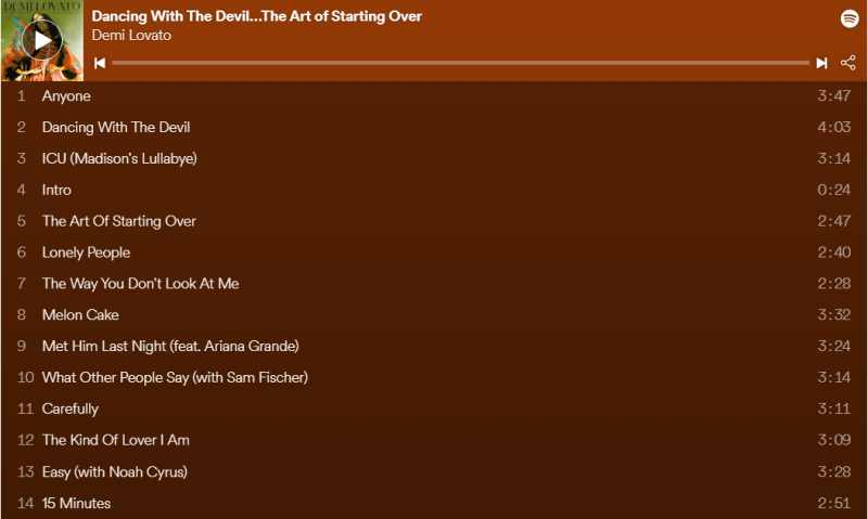 Demi Lovato a lansat albumul Dancing With the Devil…The Art of Starting Over